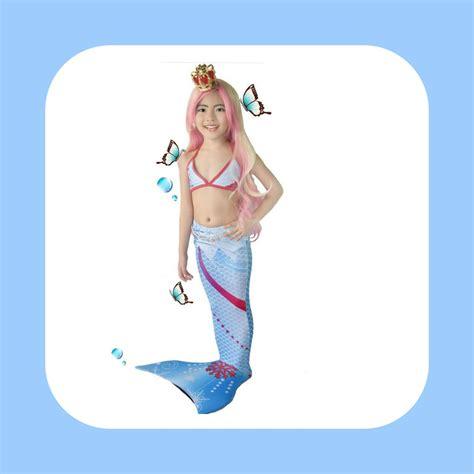 Size L 8 10th Berat 23 30kg Baju Renang Putri Duyung Fish detail produk dan harga baju putri duyung frozen toko