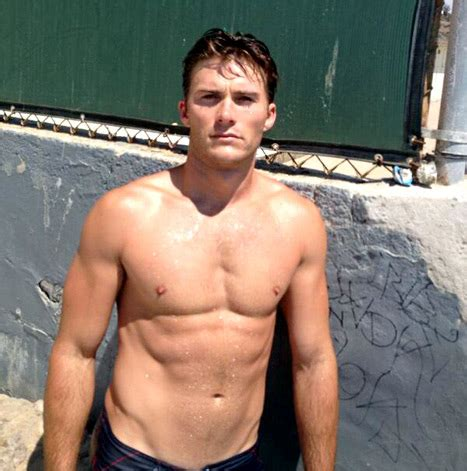 scott eastwood, clint eastwood's hunky son: more shirtless