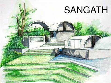B V Doshi Sketches by Sangath Architect Studio