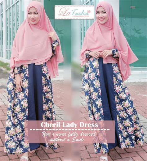 Dress Maxi Katun Ld 100 gamis latasha by my princess cheril dress baju