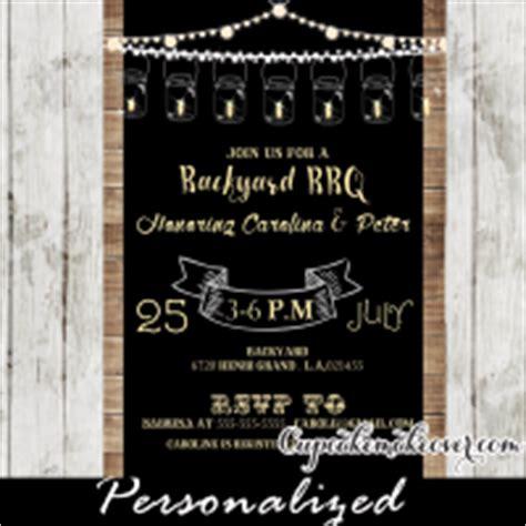 backyard baby shower invitations backyard bbq rustic wood diaper raffle tickets instant