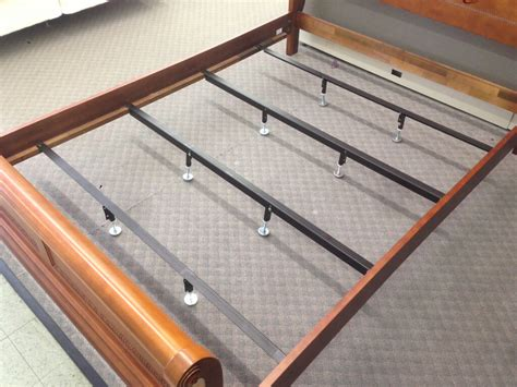 universal steel bed center support bars rails to brace