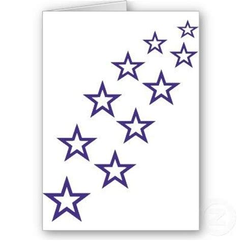 outline of stars clipart 65