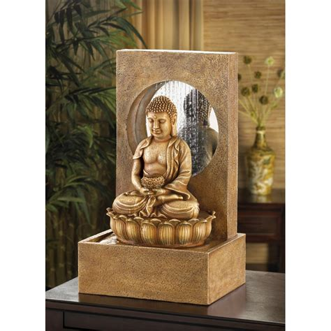 beautiful buddha fountains  indoor  outdoor garden