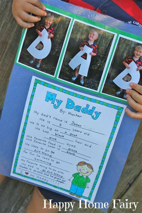 fathers day project a s day project free printable project free