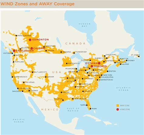 verizon coverage canada map what verizon s expansion into canada could verizon