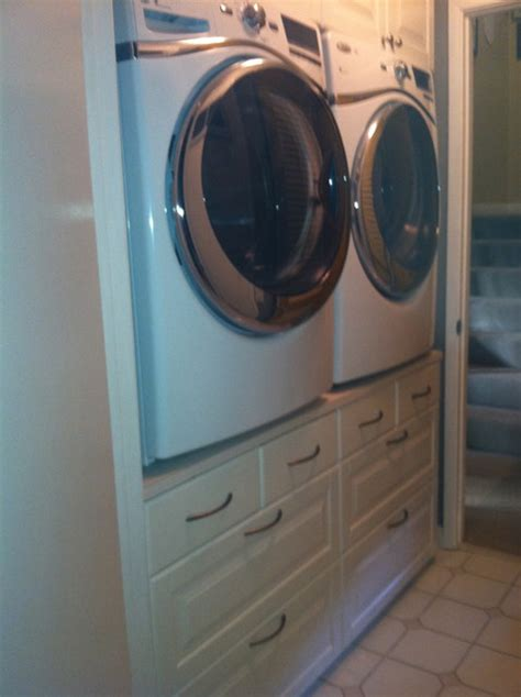 washer and dryer cabinets ikea washer dryer stand traditional laundry room san diego
