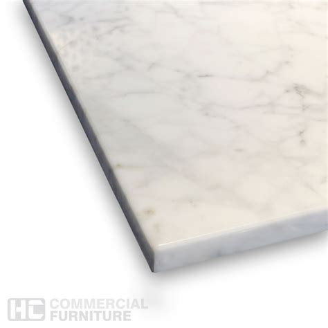carrara marble table top aged carrara marble table top hccf commercial furniture