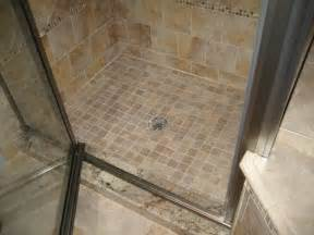 mosaic tile shower floor the gold smith