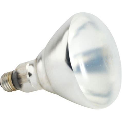 item shatterproof heat l bulb 250w clear