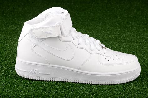 all white sneakers for nike air 1 mid 07 all white shoes casual