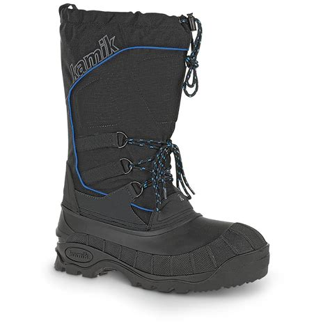 winter waterproof boots for kamik s rider waterproof winter boots 667135 winter
