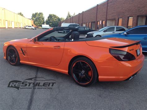 orange mercedes mercedes sl63 amg in orange not everyone s cup of fanta