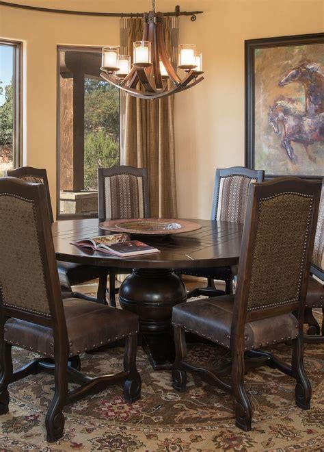 rustic southwest sedona home southwestern dining room