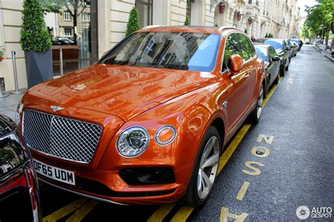 Bentley Bentayga 17 June 2016 Autogespot