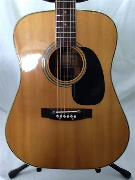Suzuki Acoustic Guitar Kiso Suzuki W 300 Acoustic Guitar Reverb