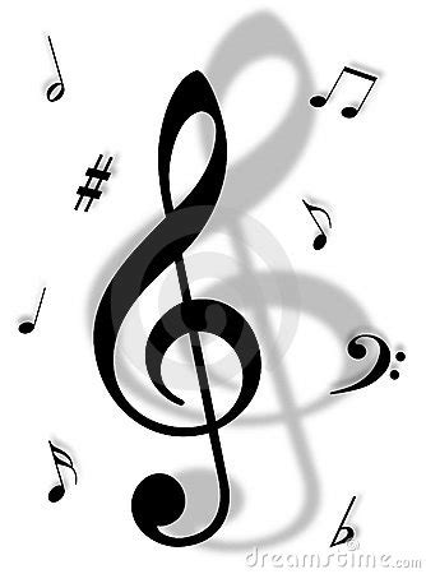 imagenes simbolo musical s 237 mbolos de m 250 sica foto de archivo libre de regal 237 as