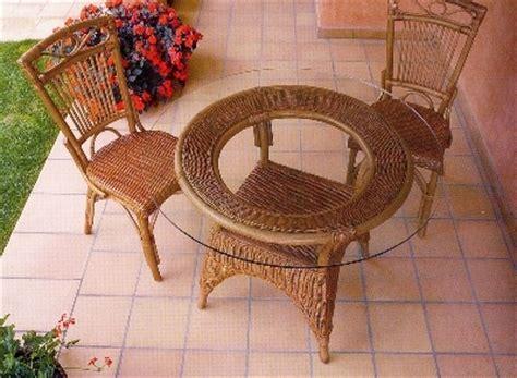 mobili da giardino in vimini tavoli e sedie da giardino in vimini mobili vimini e bambu