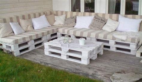 muebles de pales decoracion y muebles para terraza con palets outdoors