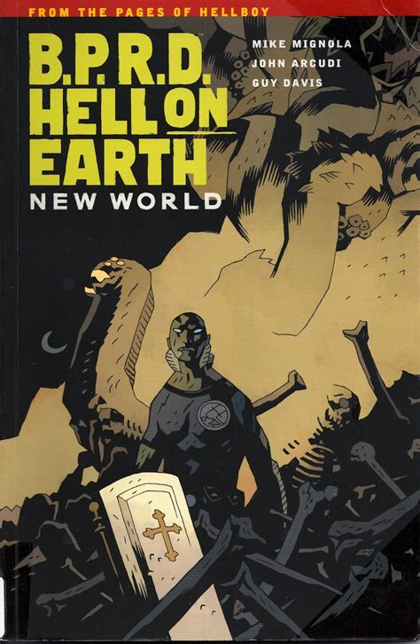 b p r d hell on earth volume 1 books aah really depressed monsters b p r d hell on earth