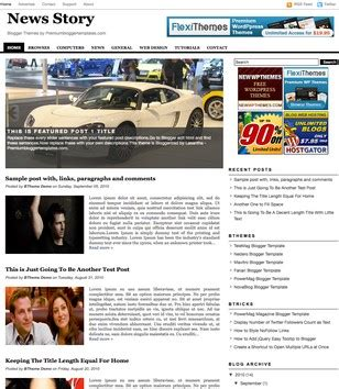 blogger templates for stories news story blogger template 2014 free download