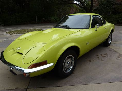 old opel roadster 1970 opel gt coupe with rare air condition original one