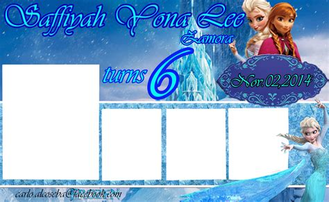 free download of tarpaulin layout frozen birthday tarpaulin lay out by carlo1official on