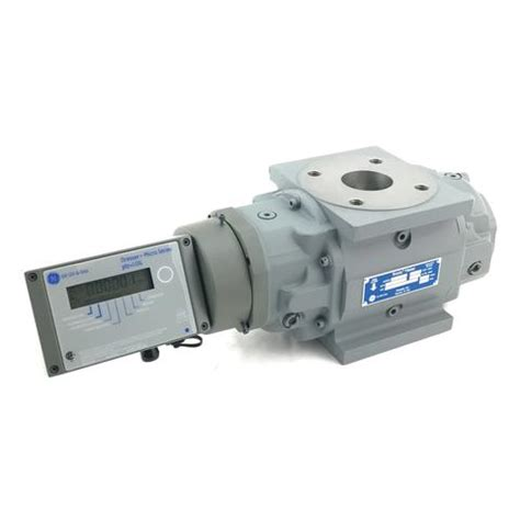 dresser roots rotary gas meters measurement systems