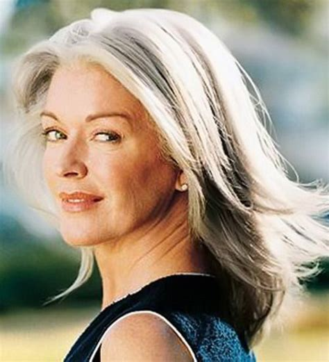 long hairstyles for women over 50 with graying hair beautiful gray hair cuts hair world magazine
