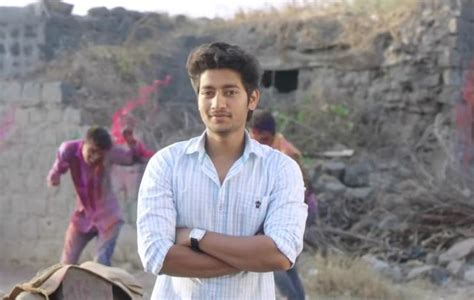 akash sairat actor akash thosar of super duper hit film sairat fame to star