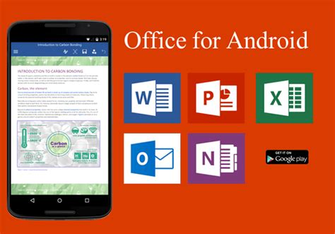 5 best office for android apps