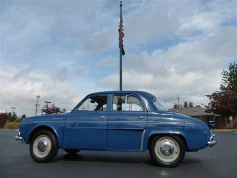 1959 renault dauphine 1959 renault dauphine us model auto restorationice