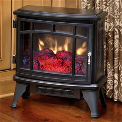 Duraflame Electric Fireplace Reviews by Duraflame 8511 Black Infrared Electric