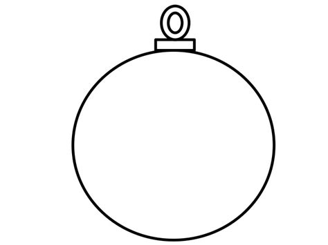 Printable Christmas Tree Baubles | best photos of tree ornament template printable