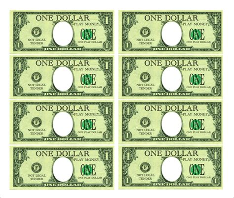 printable fake money template best photos of custom play money print personalized play