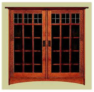 craftsman bookshelves arts crafts mission style bookcases craftsman bookcase