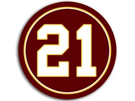 redskins colors 4x4 inch 21 redskins colors sticker decal football