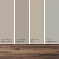 cool khaki paint picks these soft subtle hues pick up the warm rich shades in a walnut wood