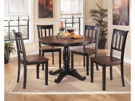 ashley dining room table signature design by ashley round dining room table top