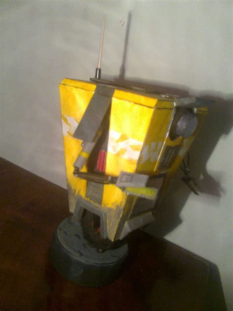 Claptrap Papercraft - cl4p tp claptrap model by kiziordzn on deviantart
