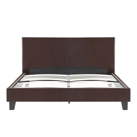 Platform Bed Slats King Linen Platform Bed Frames With Wood Slats Headboard K7u5 Ebay