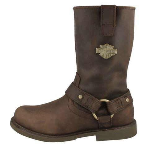 mc boots mens harley davidson biker boots josh ebay