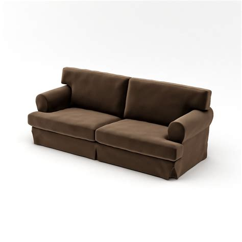 Ikea Ekeskog Sofa 3d Model Max Cgtrader Com