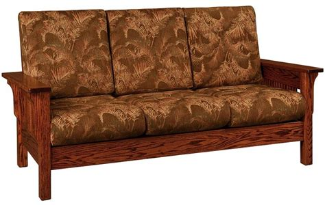 Amish Sofa by Amish Lancaster Mission Sofa
