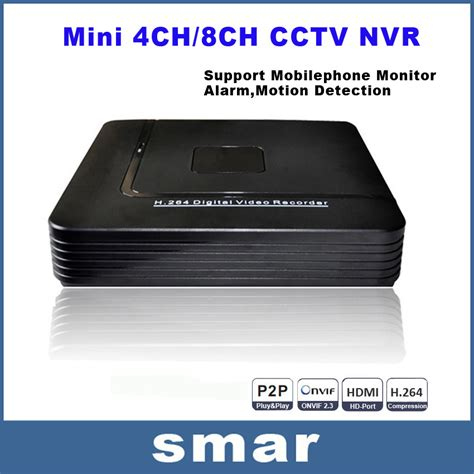 Nvr 8 Channel Support Ip 720p Sd 1080p onvif mini hd cctv nvr 8ch recorder 8 channel h 264 network dvr for 720p 1080p ip
