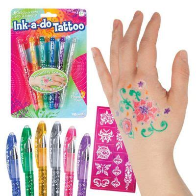 tattoo gel pens non toxic unique stocking stuffers for girls everyday savvy