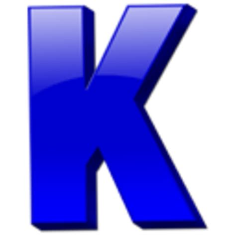 Letter Kc Letter K Icon Free Images At Clker Vector Clip Royalty Free Domain