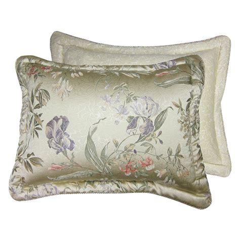 croscill iris comforter set sale iris pillow sham by croscill pillow shams at hayneedle