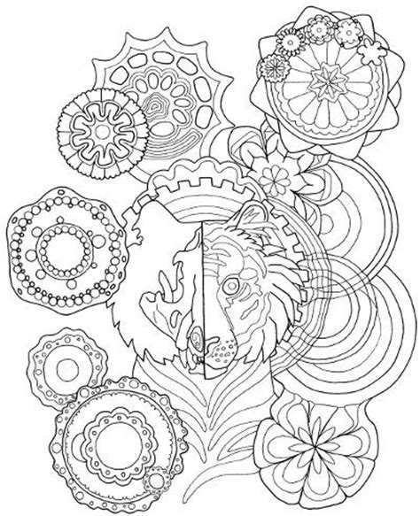 tiger mandala coloring pages tiger mandala coloring page for adults mandala coloring
