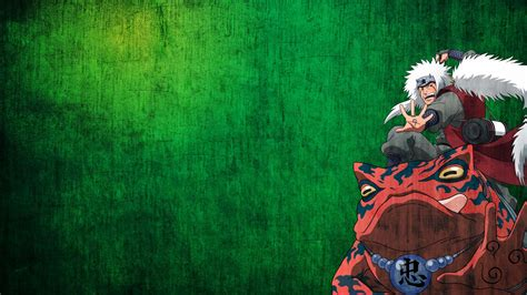 wallpaper green anime naruto shippuden frogs anime anime boys jiraiya green